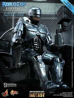 Hot Toys 1/6 MMS203 D05 RoboCop with Mechanical Chair ALEX MURPHY IN STOCK