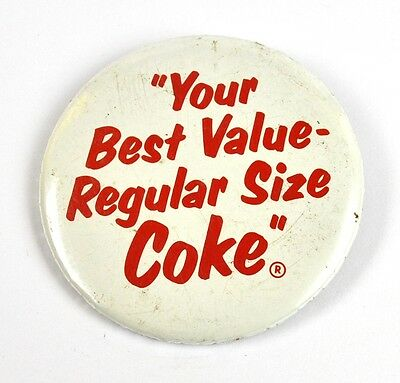 Coca Cola Coke USA Pin Button Badge Anstecknadel - Best Value Regular Size