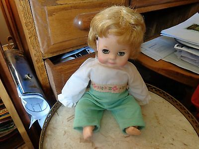 Vintage 1965 VOGUE  DOLL ORIGINAL CLOTHES 12  INCHES TALL EYES BLINK