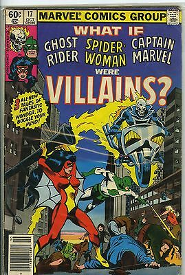What if (1977 comic) Spider Woman and Ghost Rider