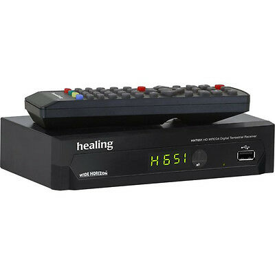 Healing HHT651 HD Set Top Box with USB Record/Playback