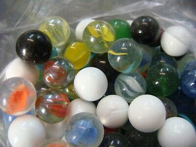 Glass Marbles Round Pack Of 150 Children'S Toy Or Decorator Or Craft Marbles
