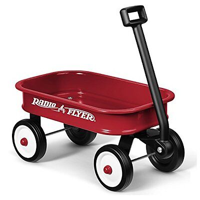 NEW Radio Flyer Little Red Toy Wagon - For Ages 3+ - Steel Body No Scratch Edges