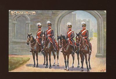 Military 3rd KINGS OWN HUSSARS Harry Payne Tuck Oilette #9478 early PPC