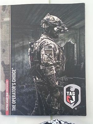 Tactical Assault Gear 2015 Products Booklet Catalog Brochure NEW