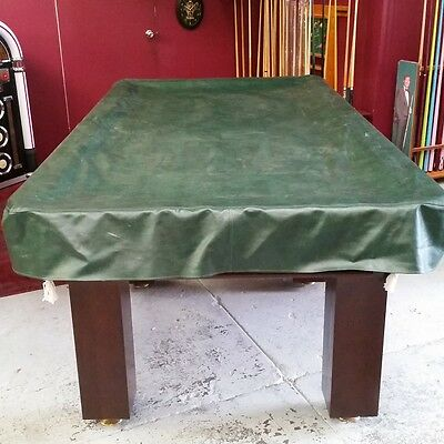 Heavy Duty FITTED Pool Snooker Billiards TABLE COVER - 7' - GREEN