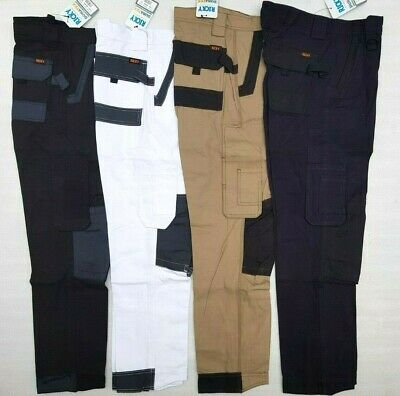 "Men's Cotton Drill Workwear Cargo Pants,Work Pants,Pants,Size 30""-46"""