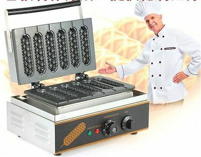 Commercial electric muffin French hot dog making machine waffle machine