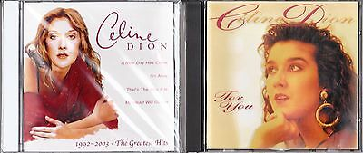 Celine Dion Rare For You Germany Cd + Celine Dion 1992-2003 The Greatest Hits Cd