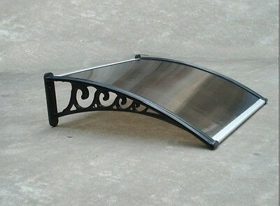 1Mx1M DIY Outdoor Window Awning/Patio Cover