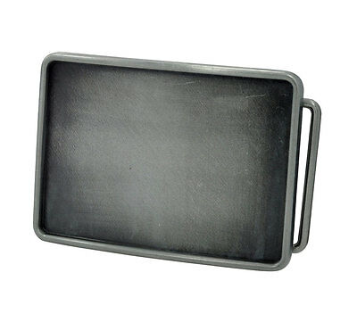 Antique Silver Color Blank Rectangle Belt Buckle Add Your Own Design