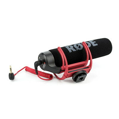 Rode VideoMic Go - On Camera Mic with Lyre Mount - Compact Microphone (RØDE)