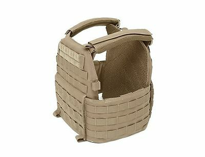 Warrior Assault Systems DCS Plate Carrier COYOTE TAN - MOLLE Body Armor