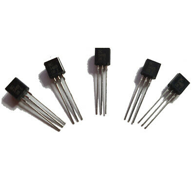 BC546B NPN Silicon Amplifier Transistor - Pack of 5, 10 or 20