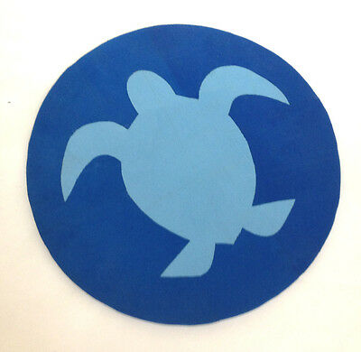Recycled Flip Flops - UniquEco Mousepad - Sea Turtle