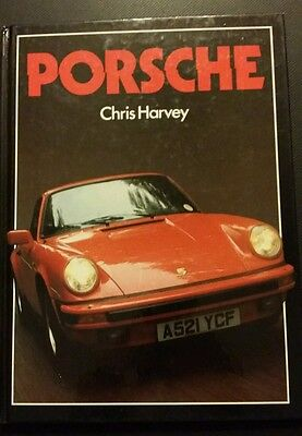 Porsche by Chris Harvey - ISBN 0831770864 - Mint Condition - Hardback