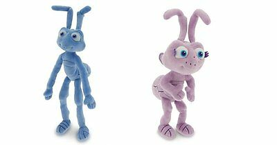 "Pixar Bug's Life Movie 8"" inch DOT & FLICK  Plush Dolls Disney Store Exclusive"