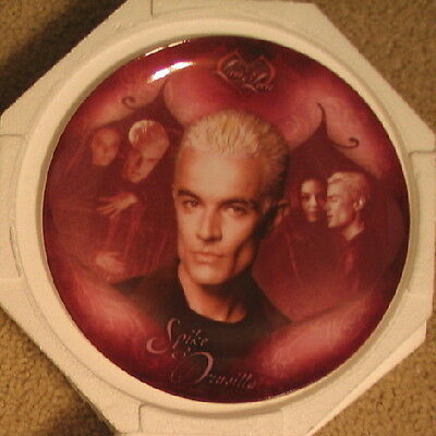 Buffy Limited Numbered Spike & Druscilla Collectors China Plate 2004, NEW UNUSED