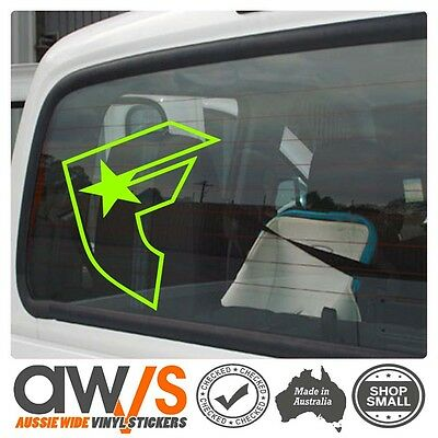 Famous Stars and Straps Sticker Decal  For Car Large  4x4 MX Surf Skate MOTO