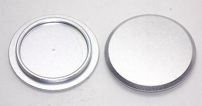 One M39 Metal Silver Body Cap NEW for Leica Camera Body Bodies