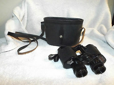 Vintage Kurt Muller 8 x 30 Binoculars w/ Case Optica Triple Tested Lumenized NM