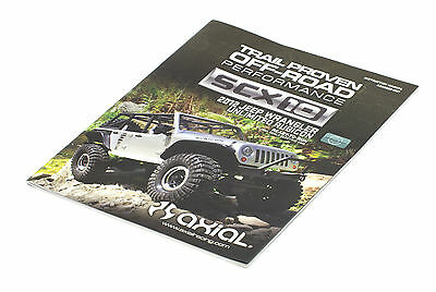 AXIAL SCX10 1/10 Jeep Wrangler Unlimited Rubicon instruction parts manual