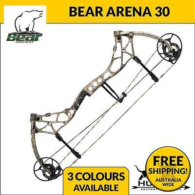 Brand New Bear Arena 30 Hunting Compound Bow Bear  Archery