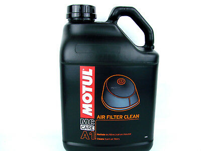 Luftfilterreiniger Motul A1 Luftfilter Reiniger Air Filter Clean MC Care 1x 5L
