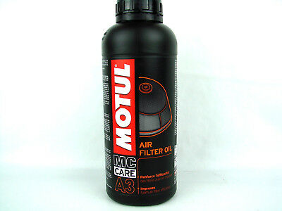 Luftfilteröl Motul A3 Luftfilter Öl Air Filter Oil MC Care Tranköl 1x 1L