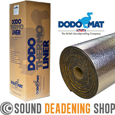 Dodo Van Insulation Liner 10sq.m Thermal Acoustic Sound Proofing Car Van VW T5 T