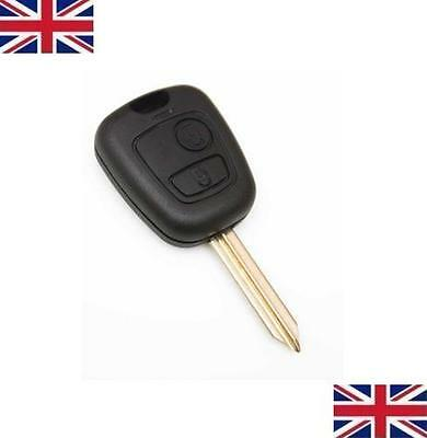 Fits to PEUGEOT Partner Expert Boxer 2 BUTTON REMOTE KEY FOB CASE BLADE NEW