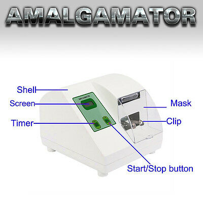 Digital Hl-Ah Dental Lab Amalgamator Amalgam Capsule Mixer Equipment Medical