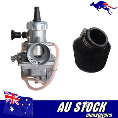 CARBURETOR Mikuni VM24 Carby w' Air Filter Yamaha BW200 ATV Quad DT175 Trailbike