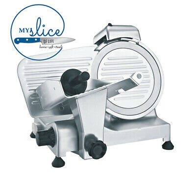 Linkrich 195mm Semi-Automatic Meat Slicer - Butcher / Chef / Deli / Restaurant