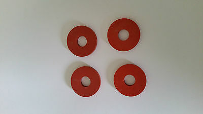 Replacement rubber seals/washers for swing top bottle stoppers pack of 4