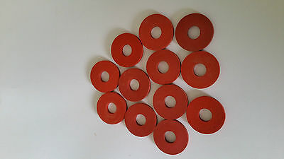 Replacement rubber seals/washers for swing top bottle stoppers pack of 12