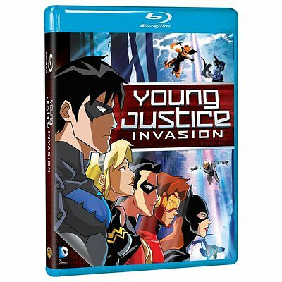 YOUNG JUSTICE : SEASON 2 : INVASION  -  Blu Ray - Sealed Region free for UK
