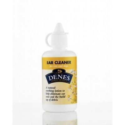 DENES Natural EAR CLEANER Dog Cat Soothing Cleaning Solution Wax Remover 50ml