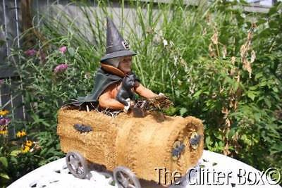 Bethany Lowe Witch In Sponge Car Large Halloween Decoration # TD4032