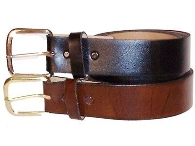 Men's Leather Dress Belt 1 3/8 sizes 46,48,50,52,54,56,58,60  !!!MADE IN USA!!!!