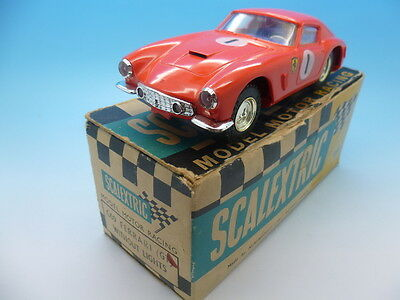 Scalextric Ferrari C69 in Red, mint car and great colour, Boxed