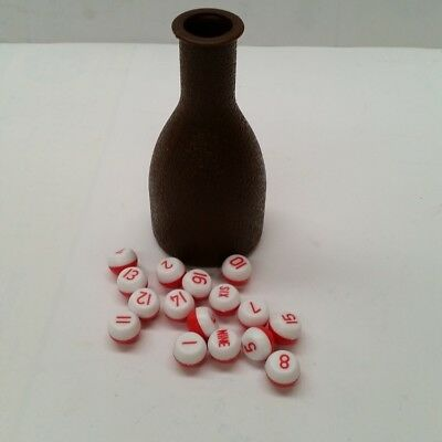 Kelly Pool BOTTLE & MARBLES- Great Gift