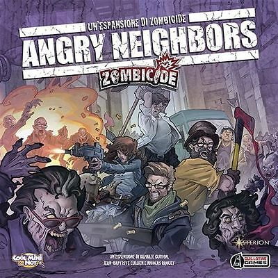 Angry Neighbors espansione per Zombicide in italiano