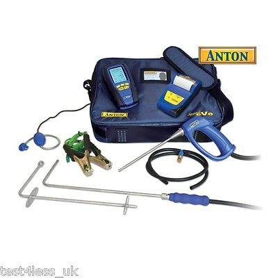 Anton Sprint eVo 3 Kit 3 Bluetooth Gas Analyser with certificate **NEW**