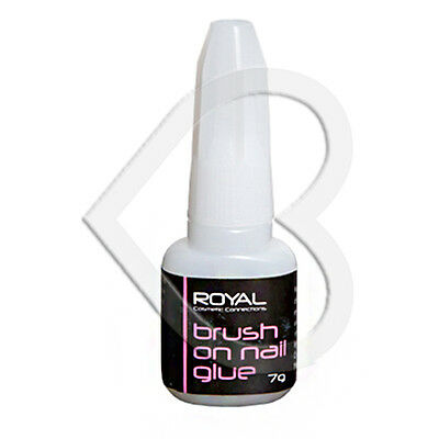 Royal Brush On Nail Glue 7gm Strong Adhesive Acrylic False Tip