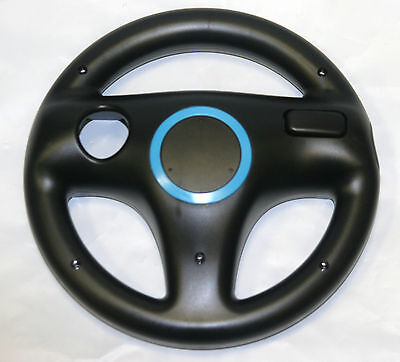 Mario Kart Steering Wheel for Nintendo Wii & Wii U - Old Skool (BLACK)