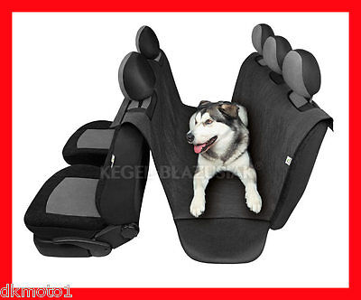 WATERPROOF Car Rear Back Seat Cover Pet Dog Cat Protector Hammock Mat Liner