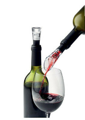 Fashion Superior Quality Red Wine Aerator Pour Spout Bottle Stopper Decanter PAT
