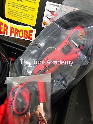 With Case! Power Probe Powerprobe 3 Iii In Blue Circuit Tester + Much More