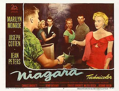 MARILYN MONROE requests a song * NIAGRA * 11x14 LC print * 1953